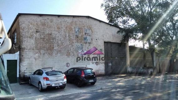 Galpão Para Alugar, 420 M² Por R$ 15.000,00/mês - Jardim Das Indústrias - São José Dos Campos/sp - Ga0097