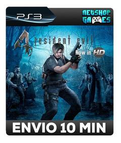 Resident Evil 4 Hd - Psn Ps3 - Promoção - Pronta Entrega