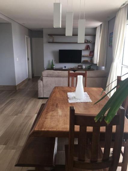 Apartamento Com 2 Dormitórios À Venda, 85 M² Por R$ 565.000 - Portal Do Morumbi - São Paulo/sp - Ap2237