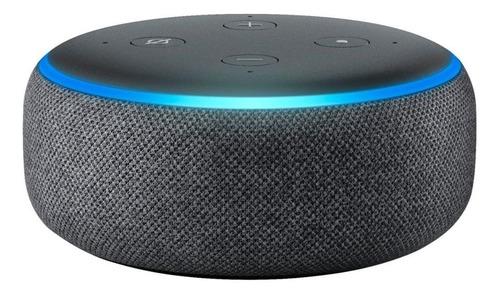 Amazon Echo Dot 3rd Gen pantalla inteligente con Alexa 110V/240V charcoal