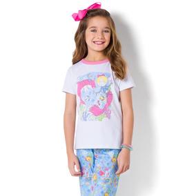 ac5cc600931ab1 Pijama Curto Com Calça Feminino Para Colorir