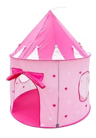 Barraca Infantil Dobrável Tenda Castelo Das Princesas Cabana