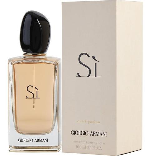 Perfume Si X100ml De Armani