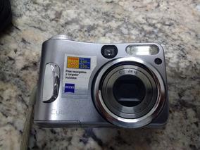 Câmara Digital Cyber-shot Sony 4.1 Mega Pixel Dsc-s80 C/case