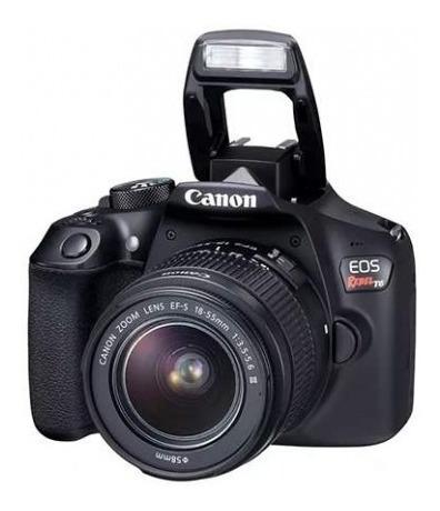Câmera Canon Rebel T6 C/ Lente 18x55mm