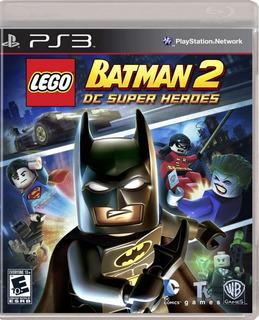 Lego Batman 2: Dc Superheroes Ps3 - Juego Fisico - Prophone