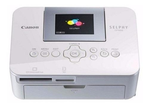 Impressora Fotográfica Portatil Canon Selphy Cp1000 Com Nf