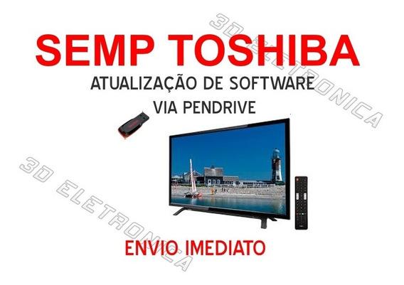 Atualização - Tv Semp Toshiba Led Dl3945 Firmware