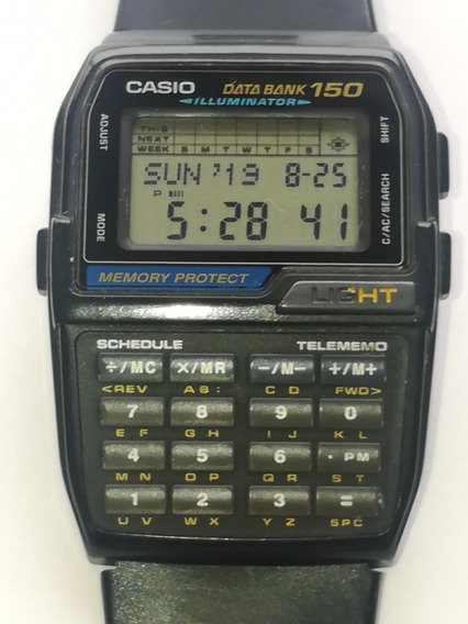 Vintage Casio Dbc-150 Data Bank 150 Illuminator