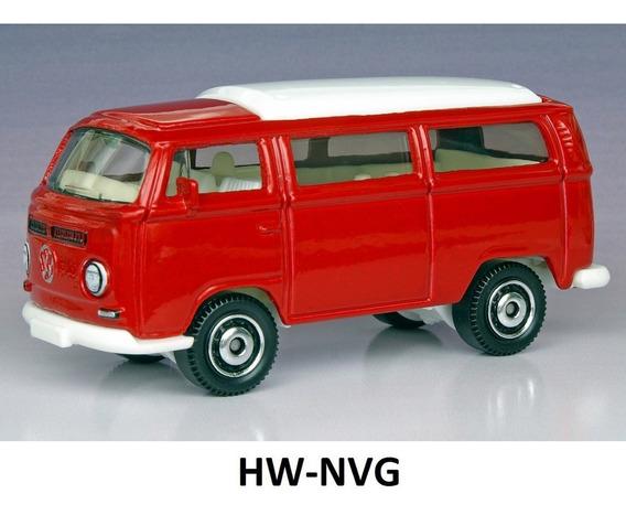 Matchbox Vw Kombi Transporter Bus T2 Van Vermelha Loose 1:64