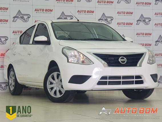 Nissan Versa 1.0 12v Flexstart 4p Mec. - Branco - 2019