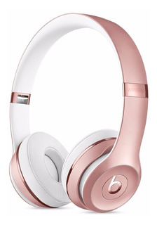 Audífonos Bluetooth Beats Solo 3 Wireless Rose Gold