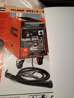 Vendo Soldadora Marca Telwin Modelo Telmig 203/2, Trifasica