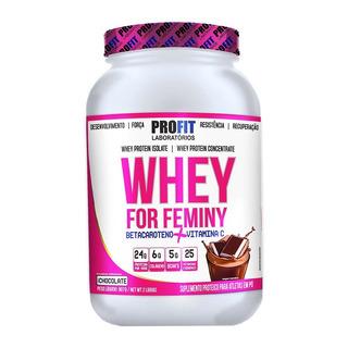 Whey For Feminy 907g - Whey Feminino - Profit Labs