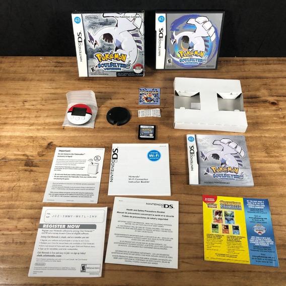 Pokémon Soul Silver 100% Completo C/ Pokewalker: Nintendo Ds