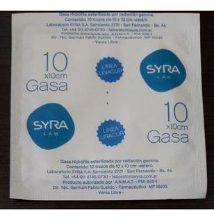 Gasa Esteril X 100u