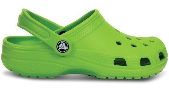 Crocs Junior Verde Limon Volt Green 395 Palermo Deporcamping