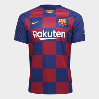 Camisa Barcelona Home 19/20 - Pronta Entrega E Frete Grátis