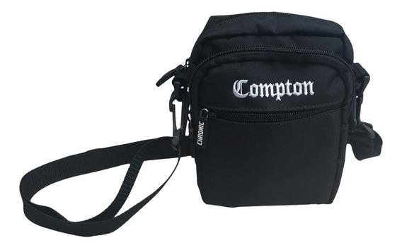 Mini Bolsa Lateral Chronic Shoulder Bag Preta Comptom