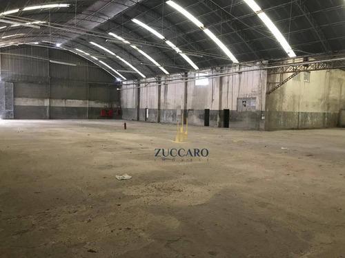 Galpão, 4500 M² - Venda Por R$ 20.000.000,00 Ou Aluguel Por R$ 59.600,00/mês - Bonsucesso - Guarulhos/sp - Ga1689