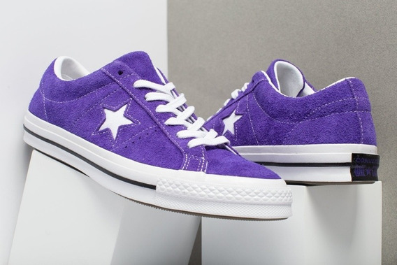 Zapatos Converse Púrpura One Star Originales
