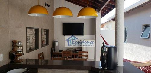 Casa Com 4 Dormitórios À Venda, 180 M² Por R$ 745.000 - Jardim Esplanada - Indaiatuba/sp - Ca0848