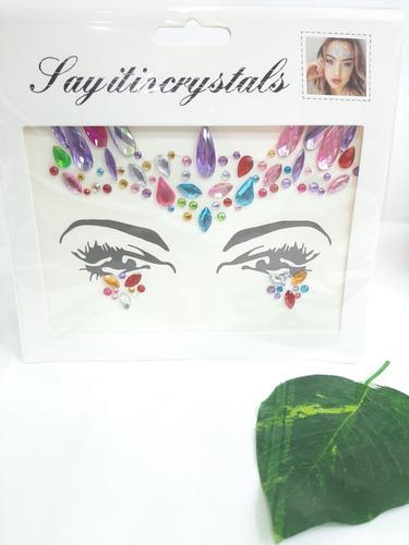 Gemas Pegatinas Decorativas Para El Rostro Brillo Facial
