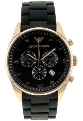 Relógio G0278 Emporio Armani Ar5905 Preto Classico C/ Caixa