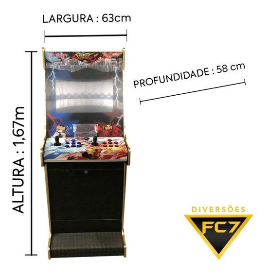 Maquina De Fliperama Multi-jogos Comercial E Residencial