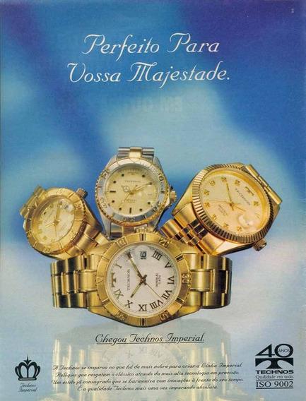 Relógio Technos Imperial