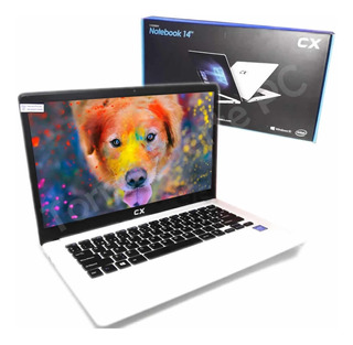 Notebook Cx 14 Intel 4gb Ram 64gb Ssd Full Hd Mas Rapida!