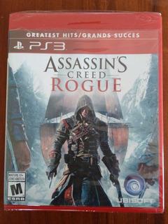 Assassins Creed Rogue Juego Ps3 Nuevo Y Sellado