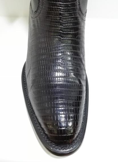 Bota Vaquera Montana Lizard Tejú Modelo Mn203lt