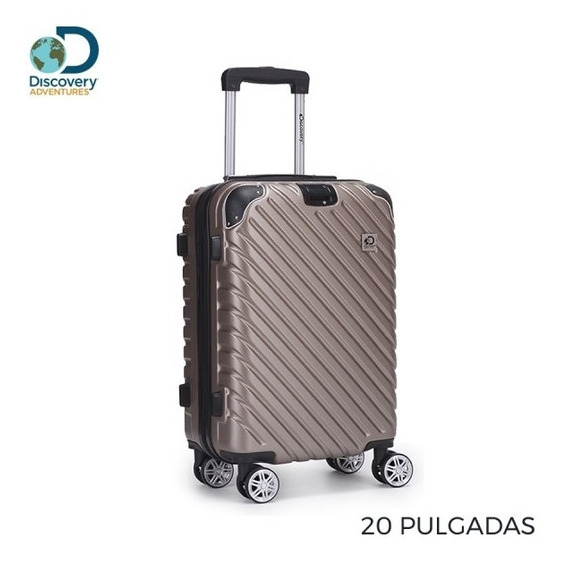 Valija Chica Discovery Carry On De Cabina Liviana Abs 26462