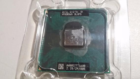 Processador Core 2 Duo T6600 Notebook 2.2ghz