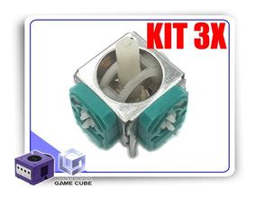 Kit 3x Reparos Analógico Potenciômetro Controle Gamecube