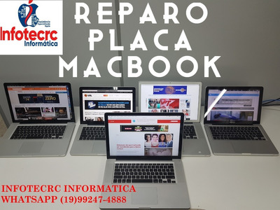 Reparo Conserto De Placa Mãe Macbook Macbook Pro Macbook Air