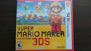 Super Mario Maker 3ds Nuevo Sellado