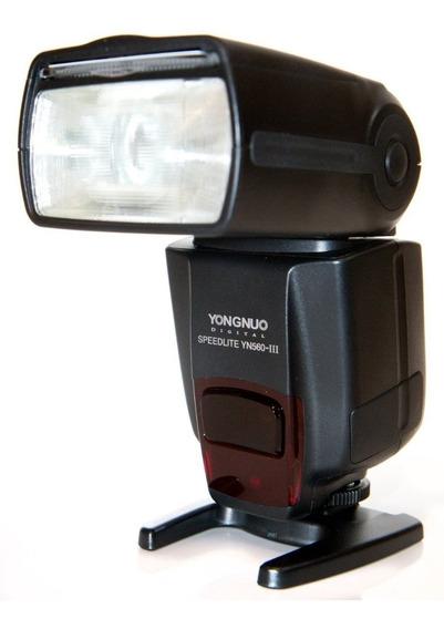 Flash Yongnuo Yn 560lll Para Canon / Nikon (nfe)
