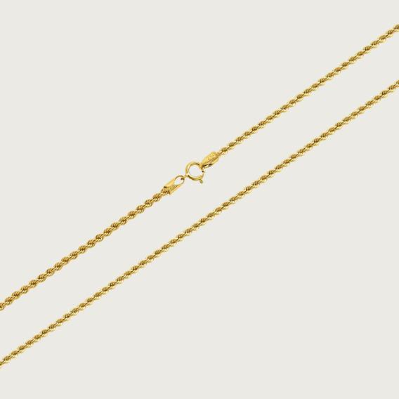 Cordão Em Ouro 18k Com 50cm - 3,2gr
