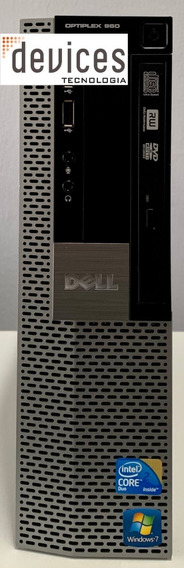 Desktop Dell Optiplex 960 Core 2 Duo E8400 4gb Hd 250gb
