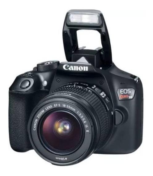 Camara Canon T6 + Bolso Case Logic Brsc-101 De Regalo