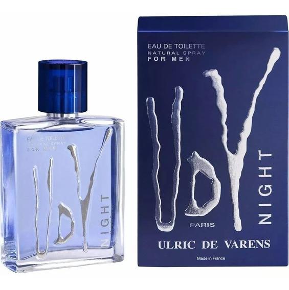 Perfume Ulric De Varens Udv Night Masculino Edt 100ml P/entr