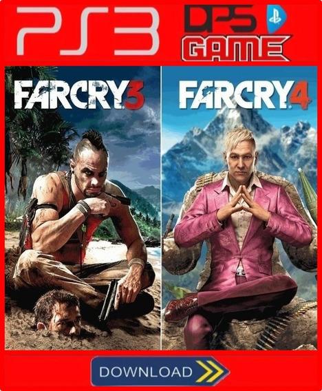 Combo Far Cry 3 + Far Cry 4 Ps3 Psn Digita Envio Hoje Rapido