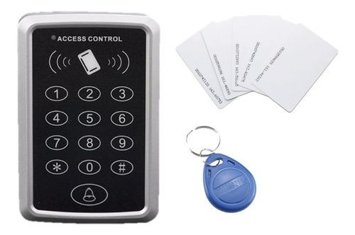 Imagen 1 de 10 de Control Acceso Serio S-828 Lector Digital  + 10 Tarjeta Rfid