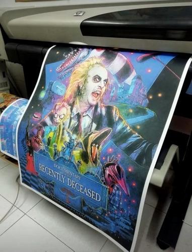 Imagen 1 de 8 de Poster, Afiche En Bond 115g 100 X 70 Cm Color Personalizado
