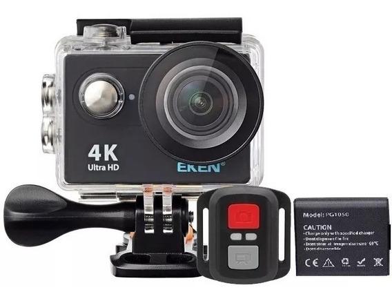 Câmera Eken H9r 4k Original Wifi + Bateria Extra + Case Prom