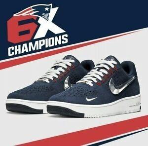 Tenis Nike Air Force 1 Ne Patriots 2019 Talla 26