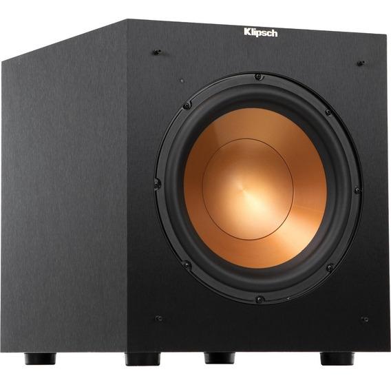 Sub Klipsch Speaker R-10sw 300w Com Nota Fiscal E Garantia