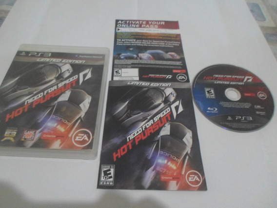 Need For Speed Hot Persuit Original Play3 (frete R$ 10,00)